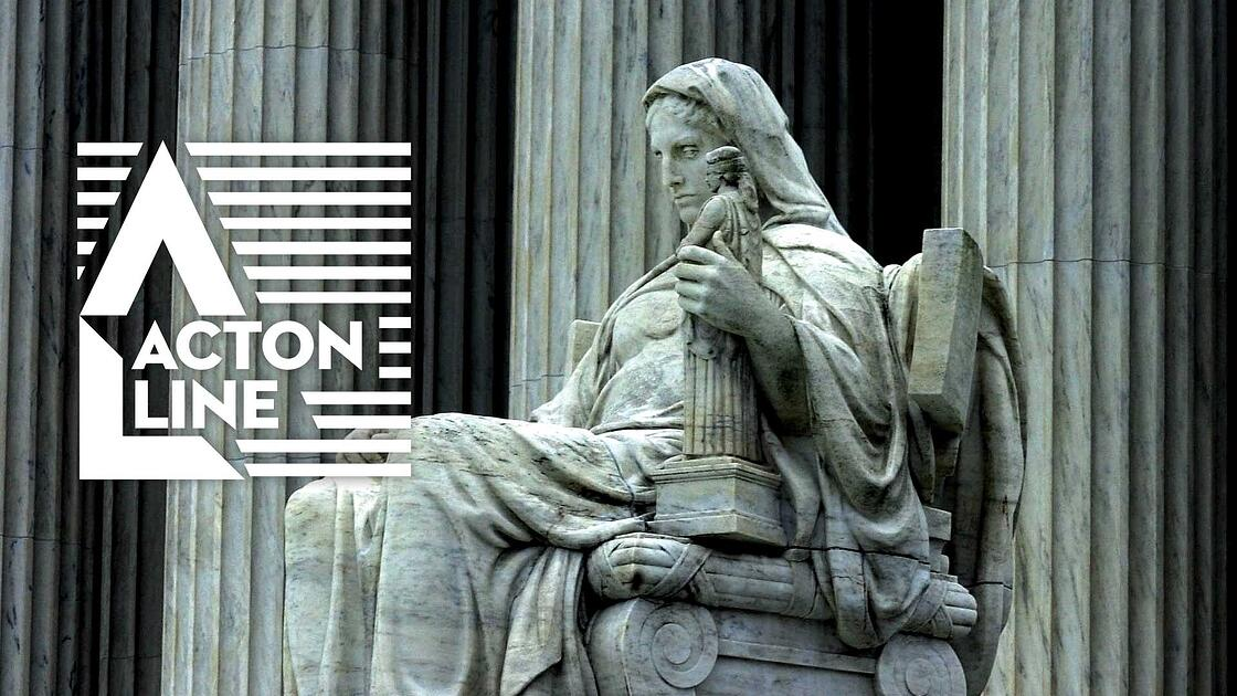 The Statue of Contemplation outside of the US Supreme Court